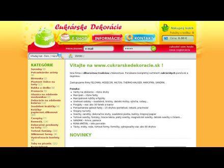 www.cukrarskedekoracie.sk