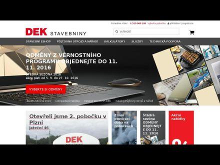 www.dek.cz