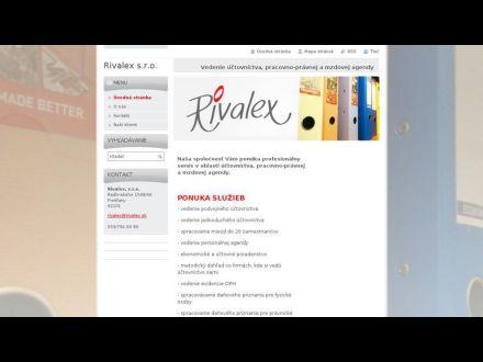 www.rivalex.sk