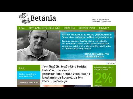 www.betania.sk