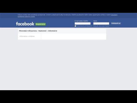 sk-sk.facebook.com/pages/Plzensk%C3%A1-re%C5%A1taur%C3%A1cia-Humenn%C3%A9/199398183404016