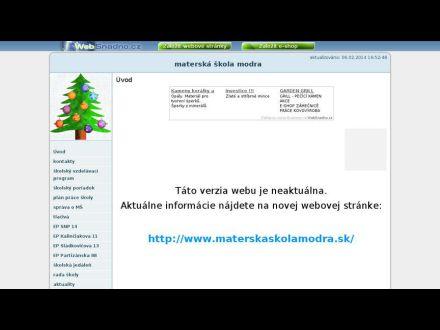 www.materska-skola-modra.wbl.sk