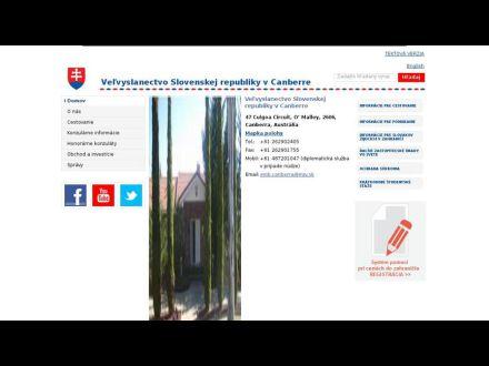 www.mzv.sk/canberra