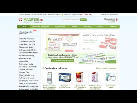 www.magister.sk
