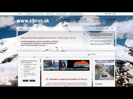 www.elbrus.sk
