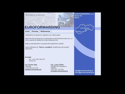 www.euroforwarding.sk