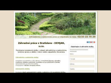 www.zahradneprace-demjan.sk