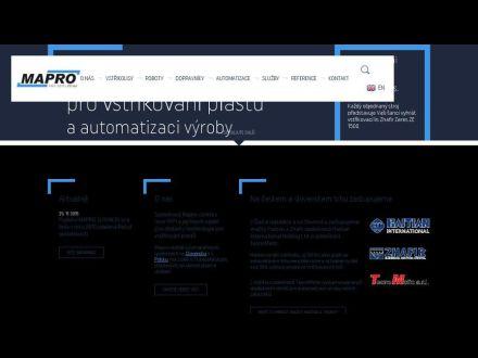 www.mapro.cz