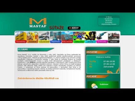 www.mastaf.sk