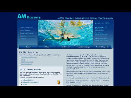 www.am-bazeny.cz