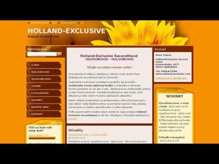 www.hollandexlusive.tym.sk