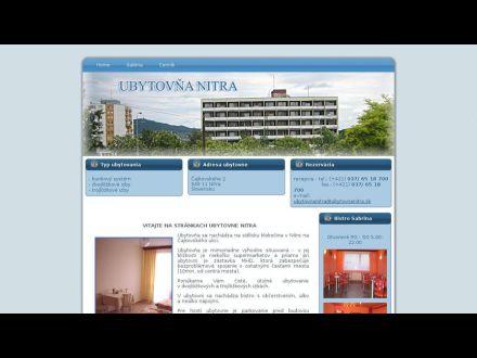 www.ubytovnanitra.sk