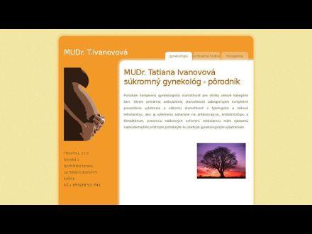 www.ivanovova.sk