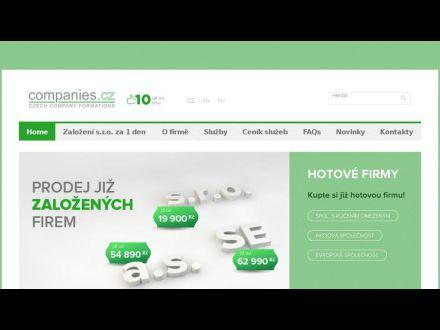 www.companies.cz