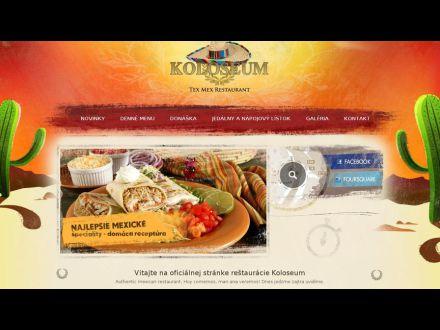 www.koloseumrestaurant.sk