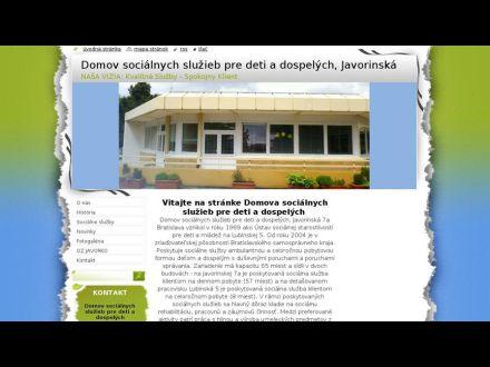 www.dssjavorinska.webnode.sk