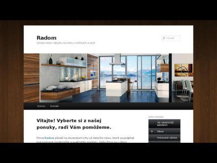 www.radom.sk