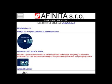 www.afinita.sk