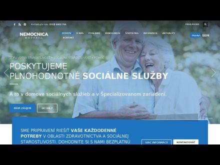www.nemocnicamodra.sk