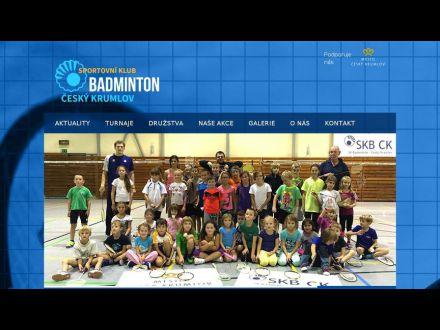 www.badmintonckrumlov.cz