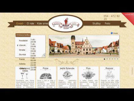 www.restauraciaroland.sk