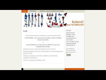 www.kolenicflock.sk
