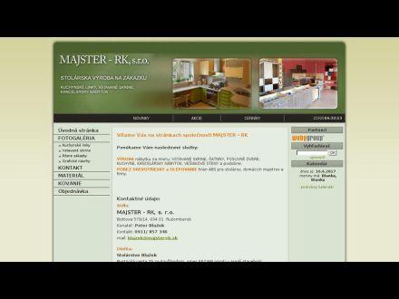 www.majster-rk.sk