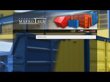 www.markotech.sk