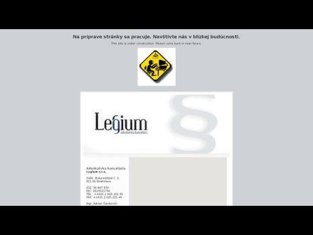 www.legium.sk