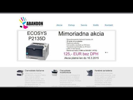 www.abandon.sk