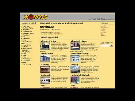 www.monros.cz