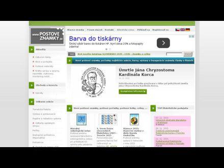 www.postoveznamky.sk