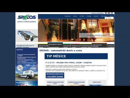 www.spedos.cz