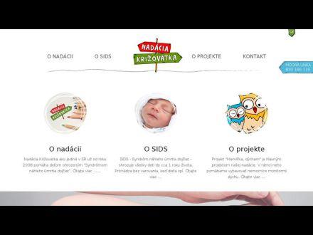 www.nadaciakrizovatka.sk
