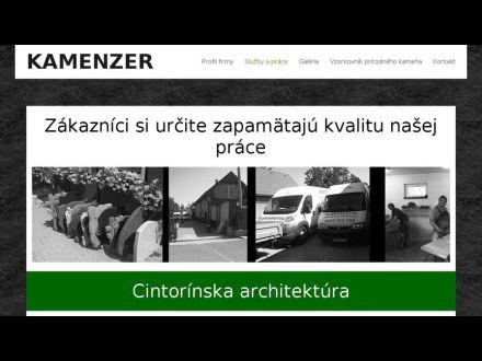 www.kamenzer.sk