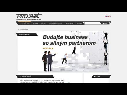 www.pro3net.sk