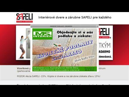 www.sapelidvere.sk