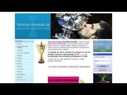 www.trofeje-pohare.sk