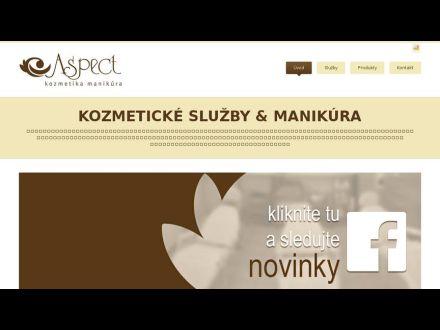 www.kozmetikaaspect.sk