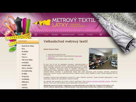 www.metrovy-textil.cz