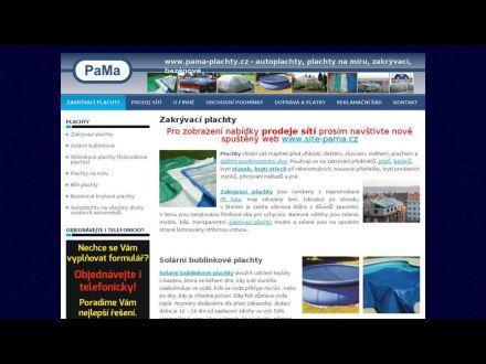 www.pama-plachty.cz