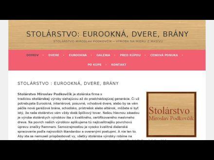 www.stolarstvo-podkovcik.sk