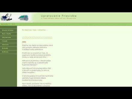 www.upratovanie-prievidza.sk