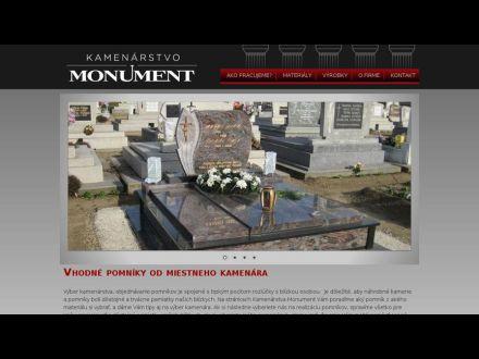www.kamenarstvo-monument.sk