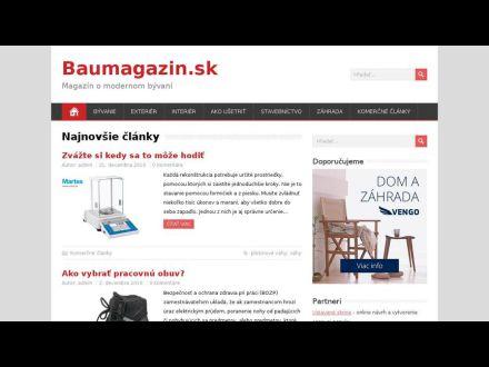 www.baumagazin.sk