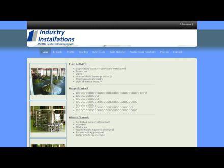 www.industryinstallations.sk