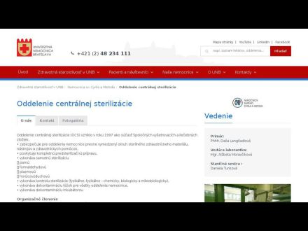 www.unb.sk/212-sk/oddelenie-centralnej-sterilizacie