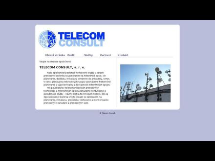 www.telecomconsult.sk
