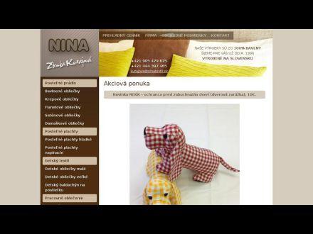 www.ninatextil.sk