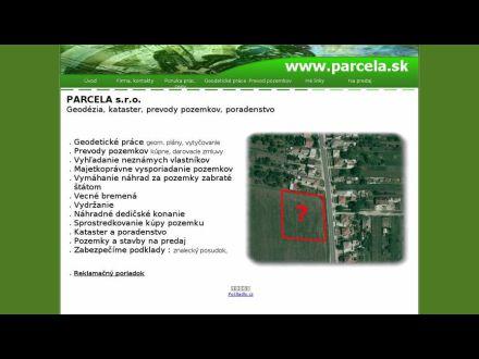 www.parcela.sk